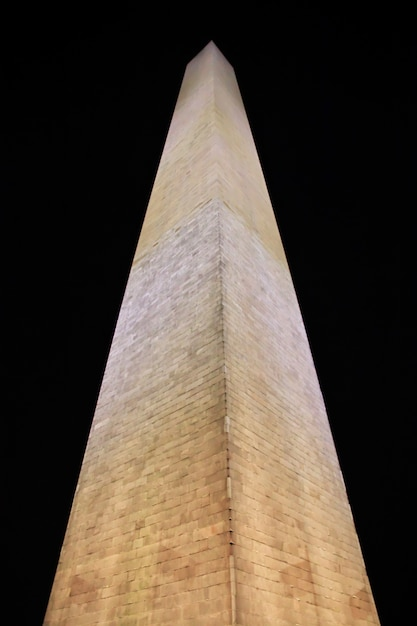 The obelisk in washington, united states Premium Photo