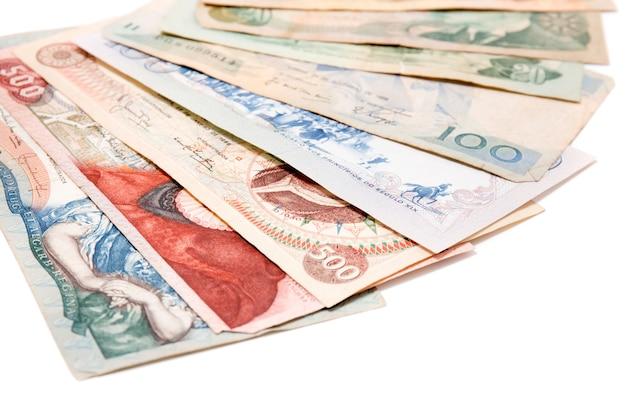 Obsolete bank notes Premium Photo
