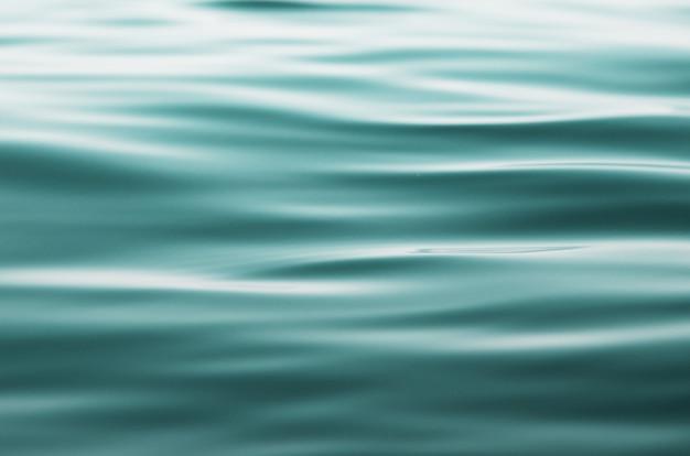 Океан воды фон. концепция фон природы. Premium Фотографии