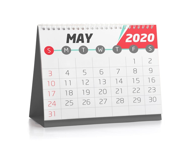 Office calendar may 2020 Photo | Premium Download