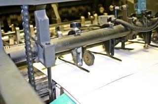 Offset printing machine, bars Free Photo