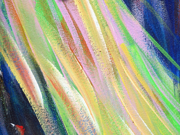 Oil paint colorful brush stroke splash drop sweet colors abstract background and texture. Premium Photo