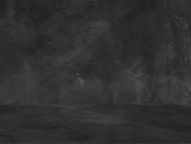 古い黒の背景。グランジテクスチャ。暗い壁紙。黒板。黒板。コンクリート。 無料写真