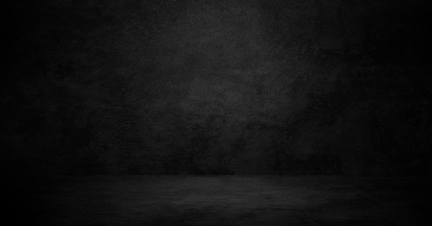 Old black background. grunge texture. dark wallpaper. blackboard, chalkboard, room wall. Free Photo