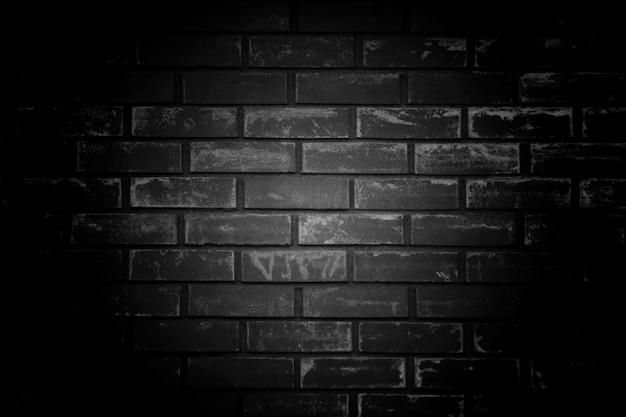 Старый черный фон стена. текстура с пограничными черная виньетка ба Бесплатные Фотографии