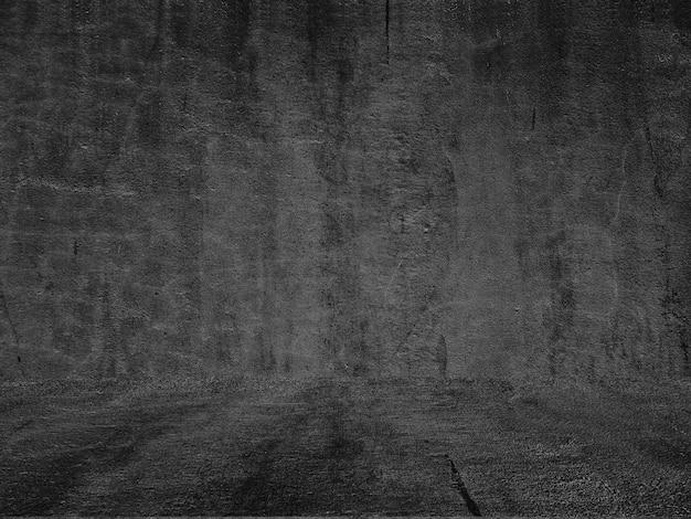 Premium Photo Old Black Wall Grunge Texture Dark Wallpaper Blackboard Chalkboard Concrete