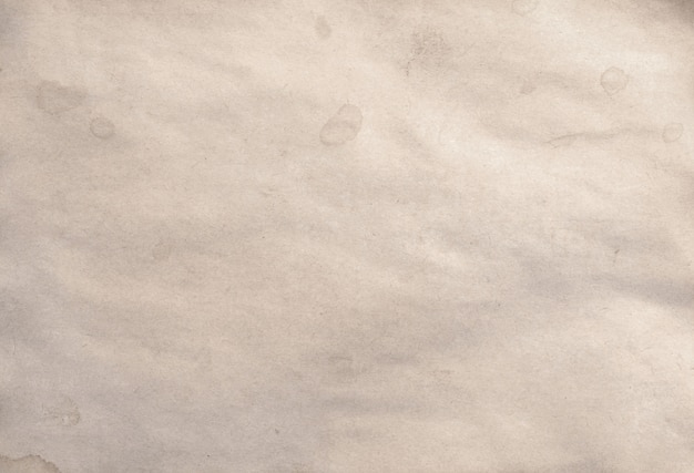Old blank piece of antique vintage crumbling paper manuscript or parchment background Premium Photo