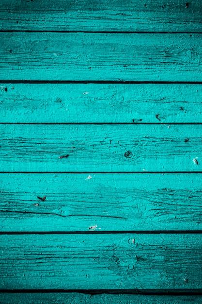 古い青い木の板。美しい背景。 無料写真