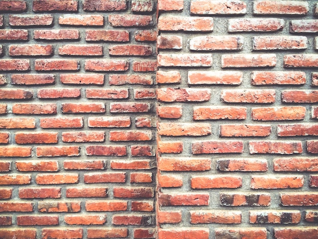 Old Brick Wall Corner Background Textured Photo Premium Download