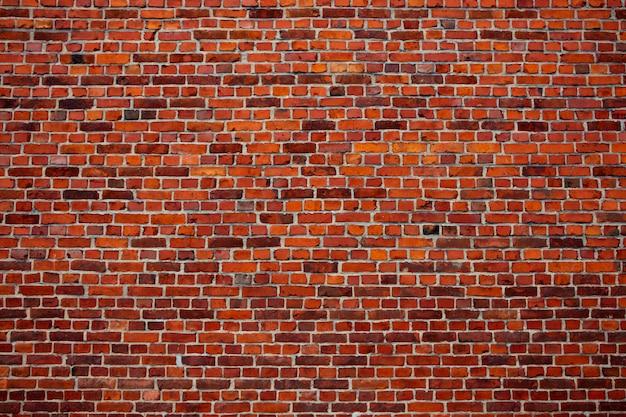 Old brick wall photo. vintage texture Premium Photo