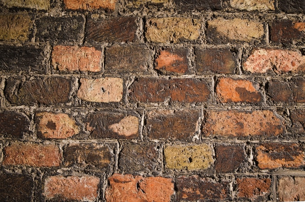 Old brick wall texture as a background Premium Photo