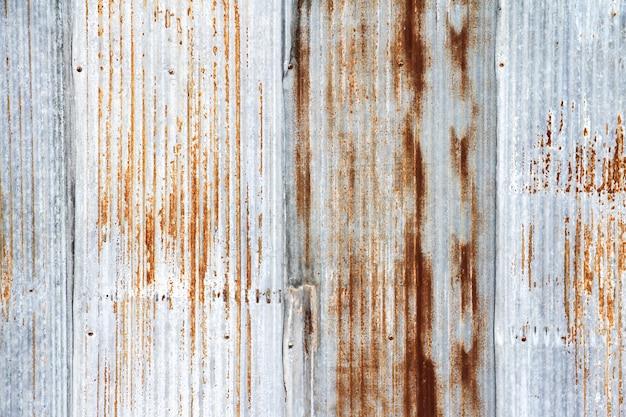 Old galvanized sheet texture background Premium Photo