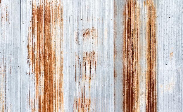 Old galvanized sheet texture background Premium Photo