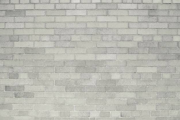 Old grey brick wall background texture Premium Photo