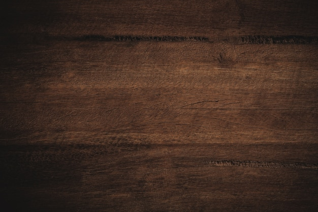 Old Grunge Dark Textured Wooden Background,the Surface Of The Old Brown Wood  Texture Premium