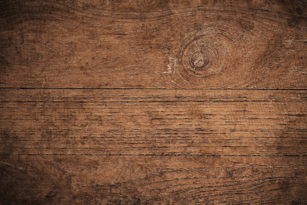 Old Grunge Dark Textured Wooden Background, The Surface Of