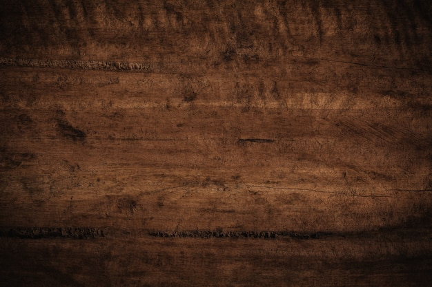 Old grunge dark textured wooden background. Premium Photo
