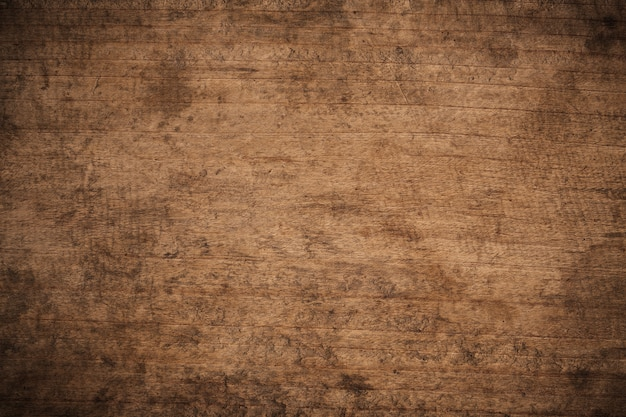 Old grunge dark textured wooden, the surface of the old brown wood texture Premium Photo