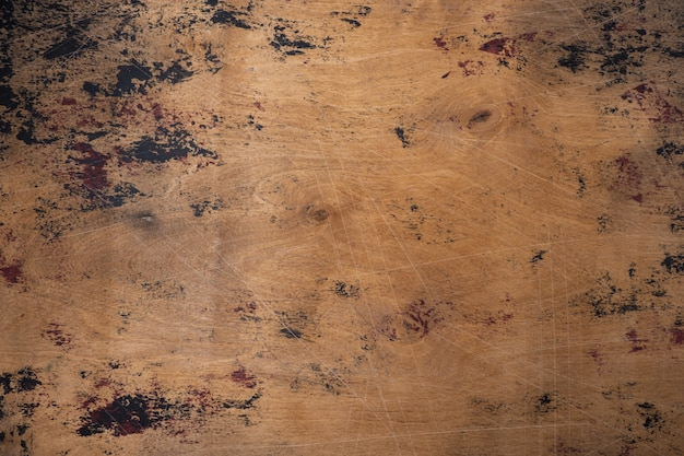 Old grunge wooden background texture Premium Photo