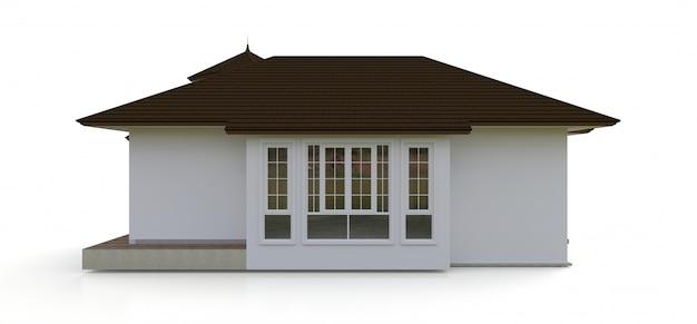 Старый дом в викторианском стиле Premium Фотографии