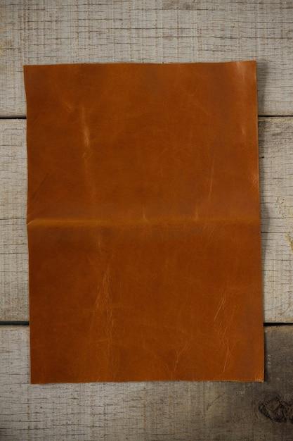 Old leather on floors. Premium Photo