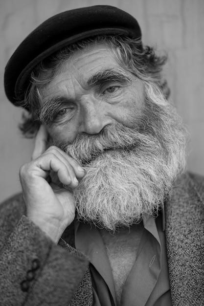 Free old man