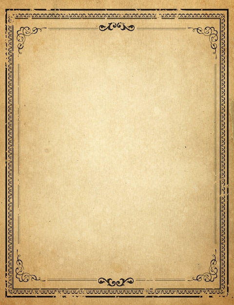 Free Old Fashioned Letter Template