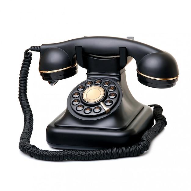 Old phone Premium Photo