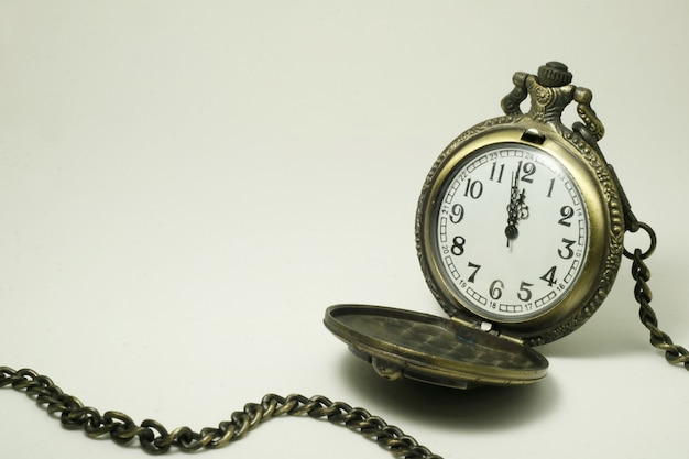 Old  pocket watch Premium Photo