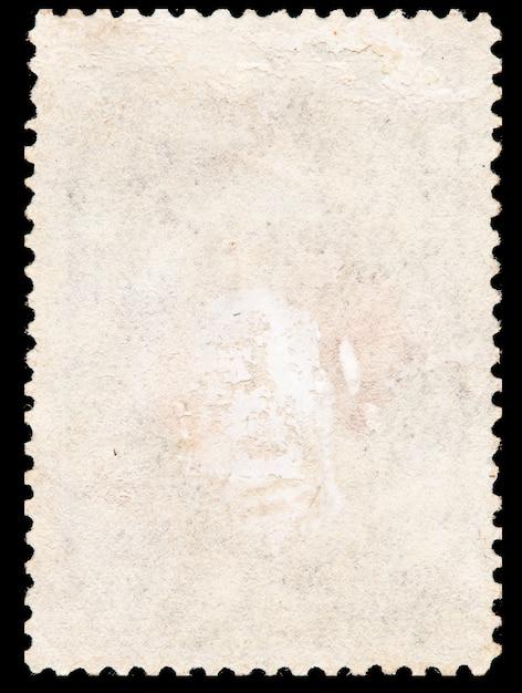 오래 된 우표 프리미엄 사진