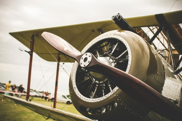 Old Propeller Photo Free Download