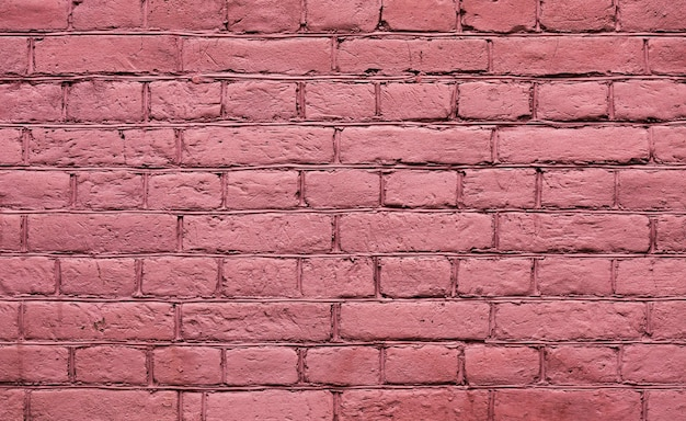 Old red brick wall texture background Free Photo