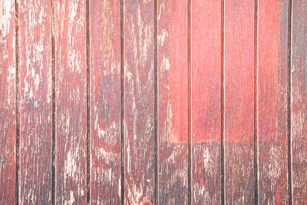 Old red wood background Free Photo