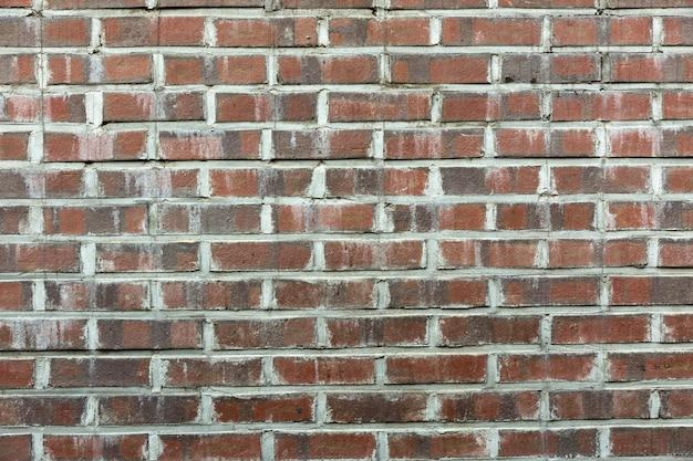 Old rustic brick wall background Premium Photo