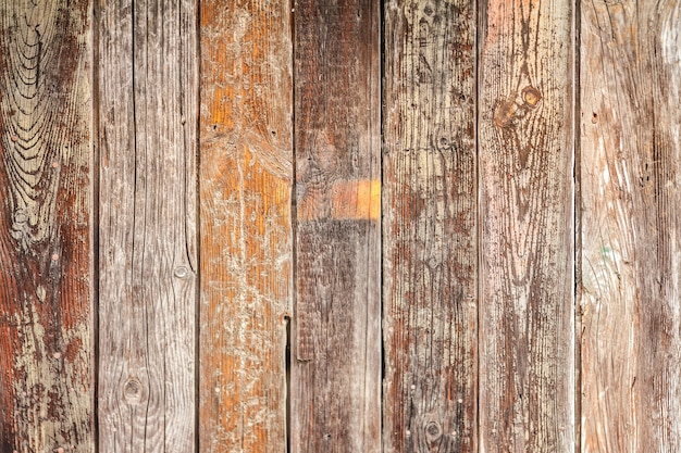 Vecchio fondo di assi di legno rustico Foto Gratuite