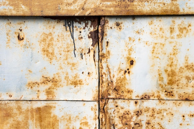 Old rusty metallic background Free Photo