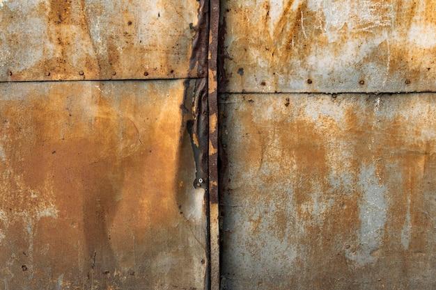 Old rusty metallic background Free Photo