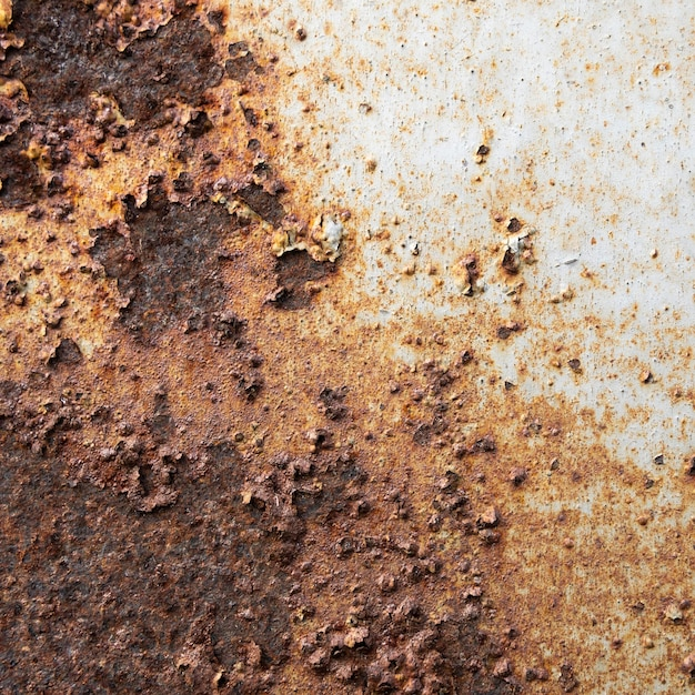Old rusty metallic surface close-up Free Photo
