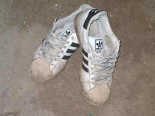 Old sneakers, footware Free Photo