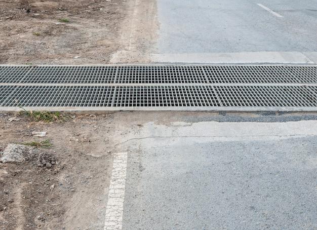 Old steel drainage Premium Photo