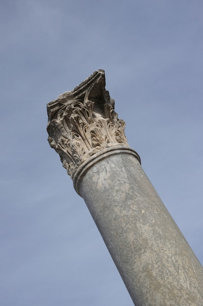 Old Stone Pillars : Old stone column photo free download