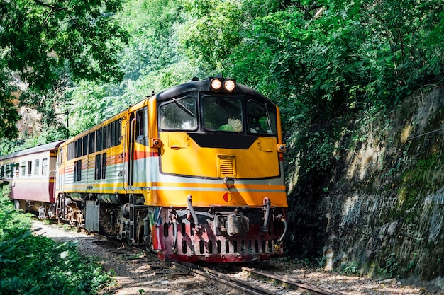 Old train in thailand Free Photo