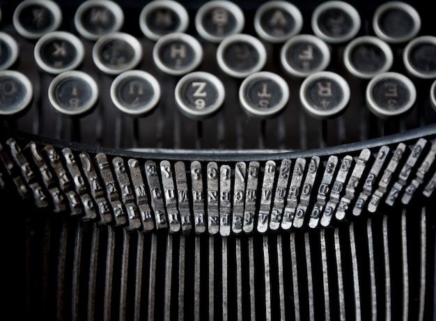 Old typewriter Premium Photo