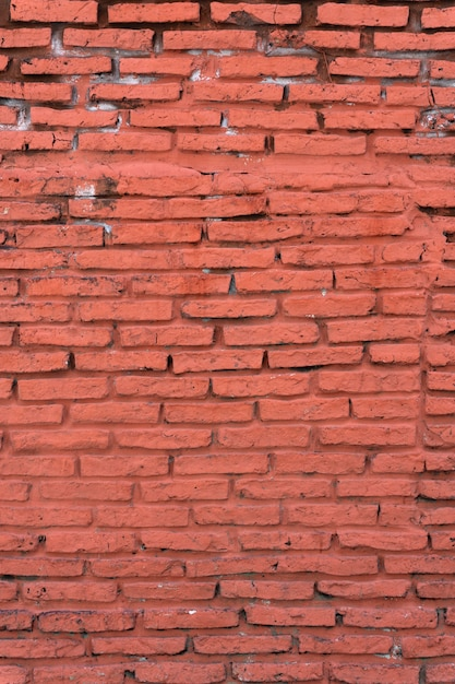 古い垂直レンガの壁の背景 無料写真