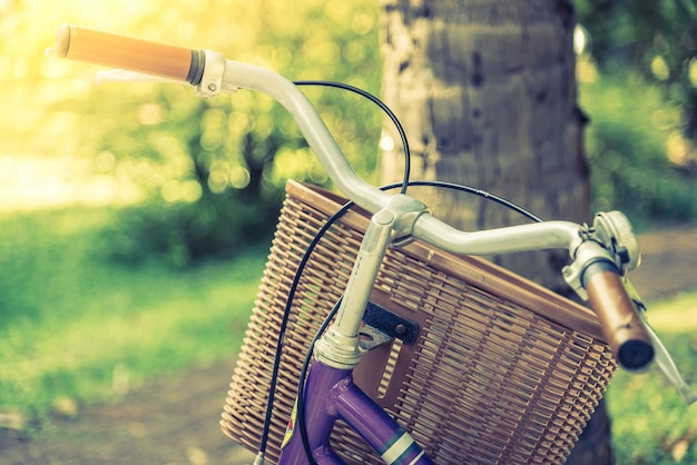 Old vintage bicycle Free Photo