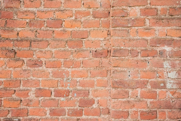 Old vintage brick wall background Free Photo