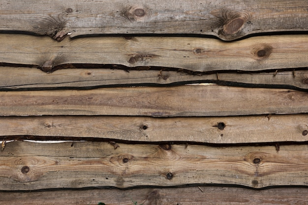 Old vintage planked wood board background Free Photo