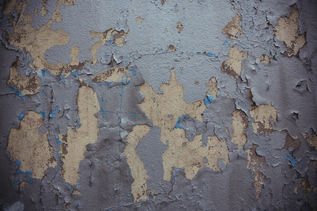 old wall with peeled paint photo free download