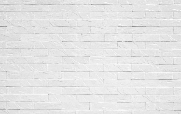 Premium Photo Old White Brick Wall For Background And Decoration