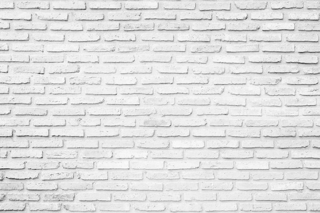 old white brick wall texture design empty white brick background for presentations and web. Black Bedroom Furniture Sets. Home Design Ideas